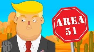 Can President Donald Trump Go Inside Area 51?