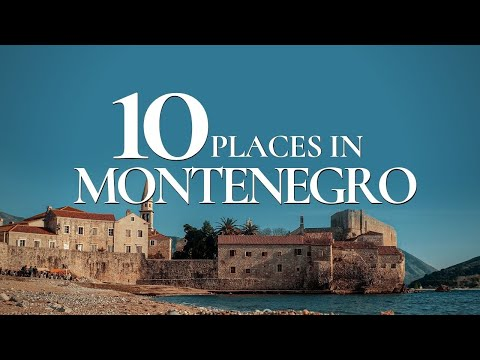 10 Beautiful Places to Visit in Montenegro | Best Tourist Destinations in Montenegro 🇲🇪