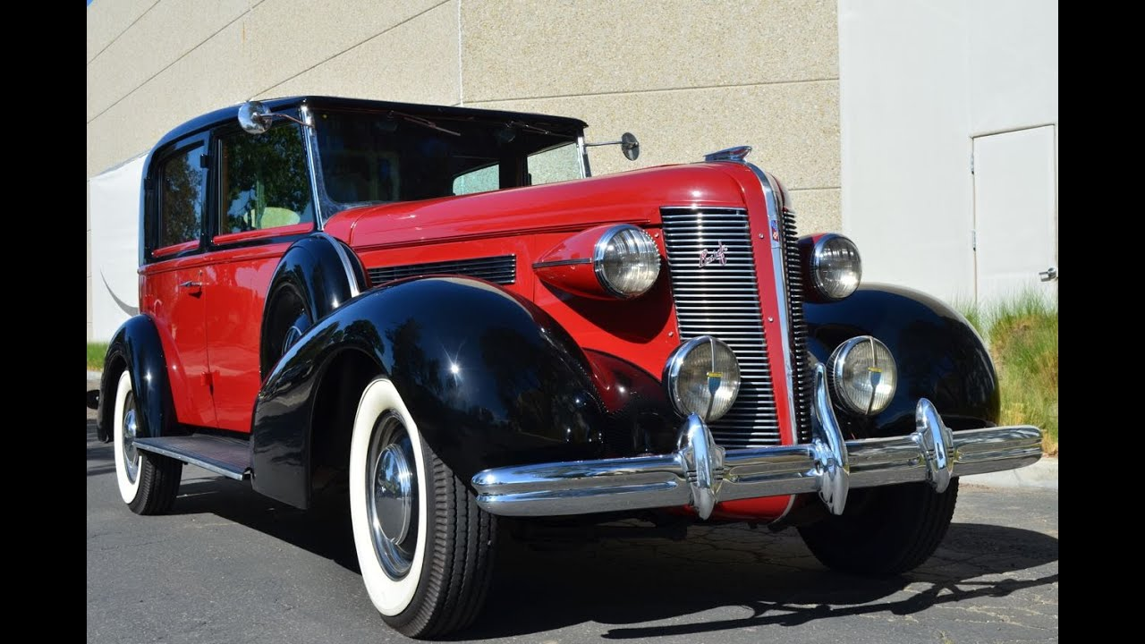 Limousine For Sale >> SOLD: 1937 Brewster Buick Limousine One of One CA - YouTube