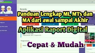 Download Video Aplikasi Raport Digital (ARD)  Kemenag - Panduan Lengkap Raport Online MI MP3 3GP MP4