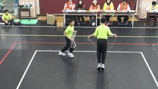20131214 中正盃 男子雙人跳繩
