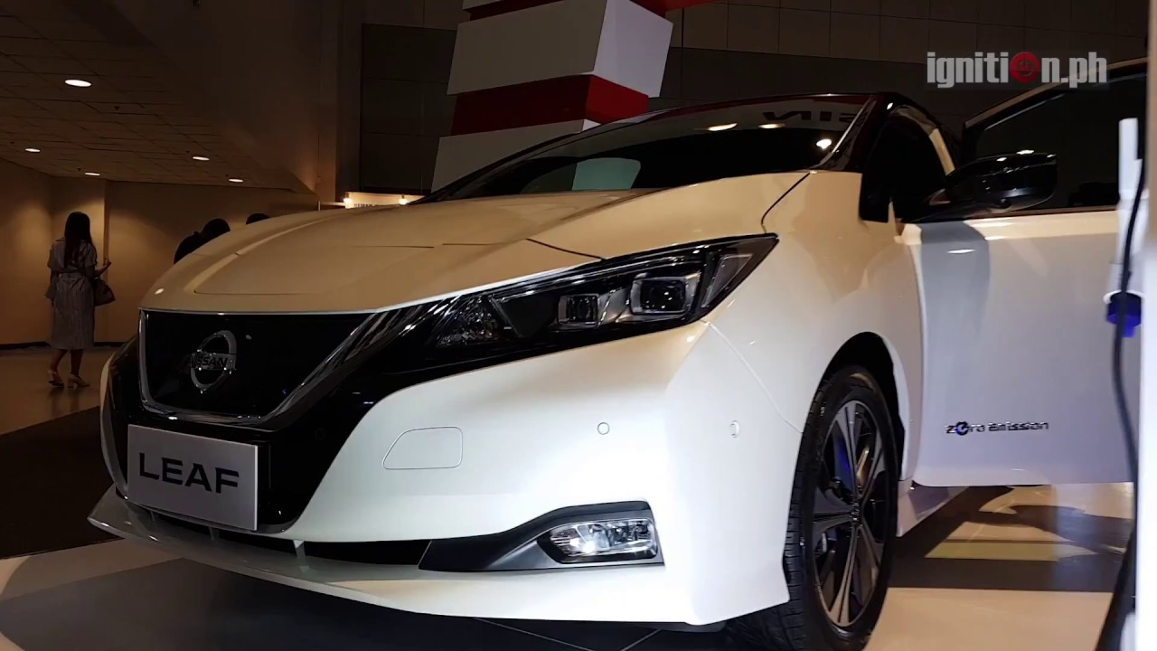 Nissan Leaf at 2018 Electric Vehicles Summit