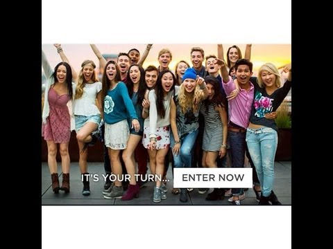 Vlog: American Eagle Outfitters BTS Campaign Cast 2013 Experience