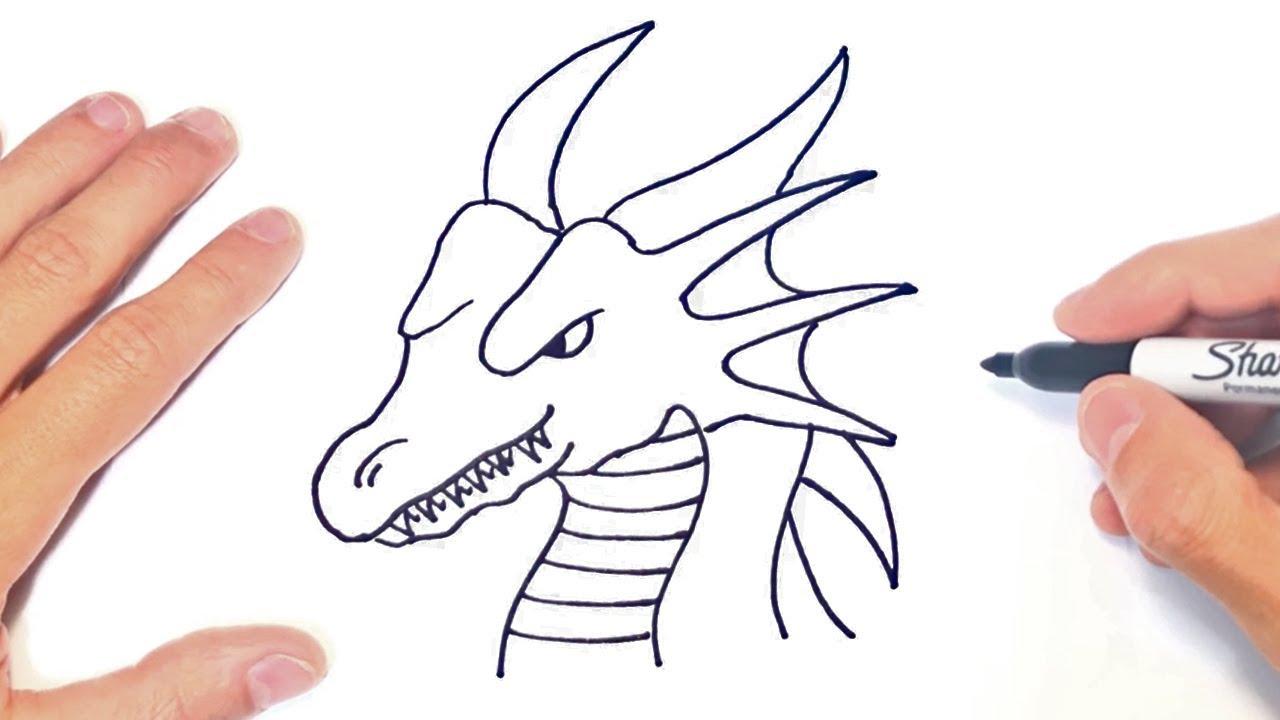 Cómo dibujar un Dragon Paso a Paso | Dibujo de Dragon ...