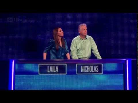 Laila Rouass - Satin Blouse - The Chase Celebrity Special 1080p HD
