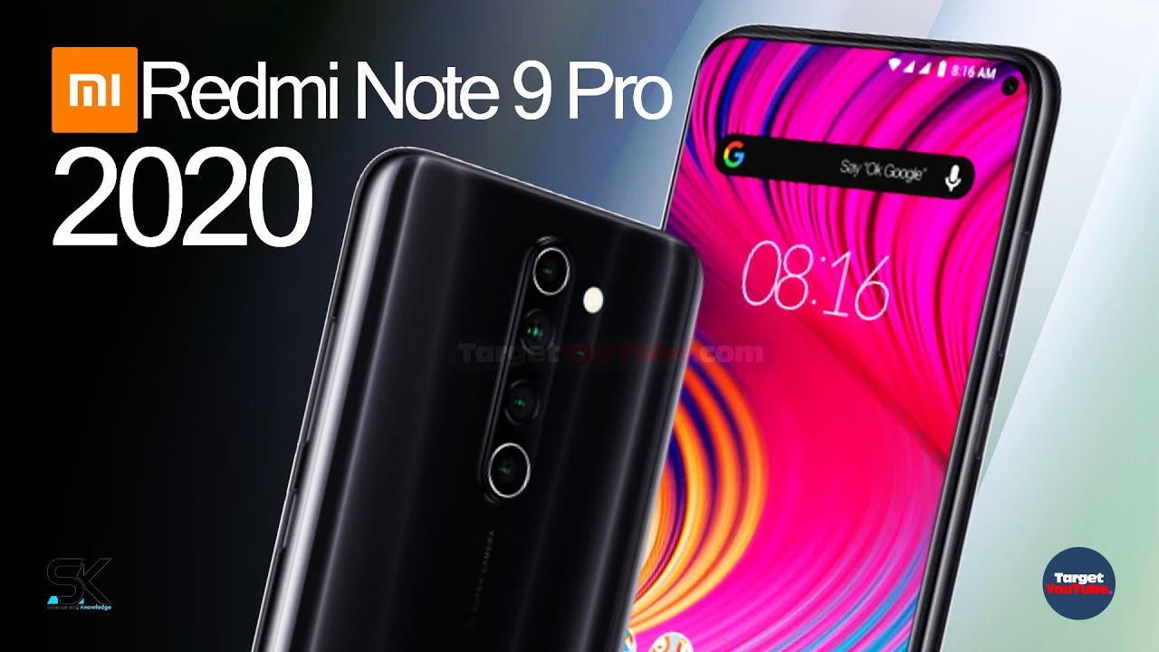 Xiaomi Redmi Note 9 Pro (2020) Introduction!!! - YouTube