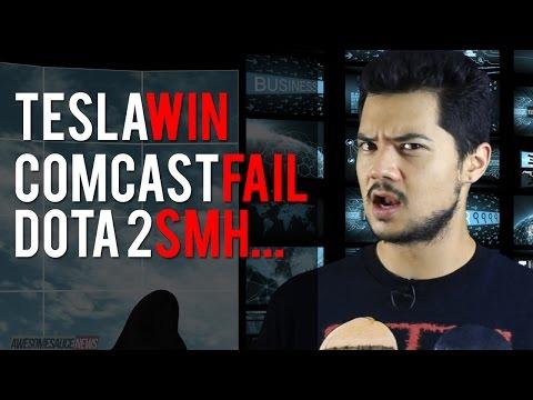 Comcast Rep Phone Call, Tesla Model III, Leaked Dota 2 Strategy - July 19, 2014