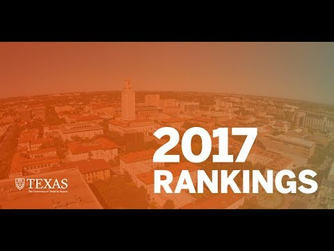 How UT Austin Was Ranked Around The World In 2017