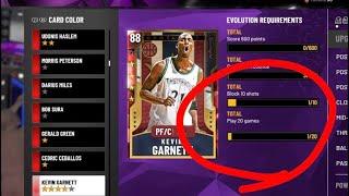 How to Evolve Kevin Garnett to Amethyst! Steals + Block Method! Making Games Count! NBA 2K20 MyTeam