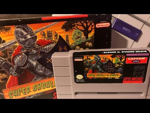 Super Ghouls N Ghosts - professional difficulty - Mike Matei Full Playthrough