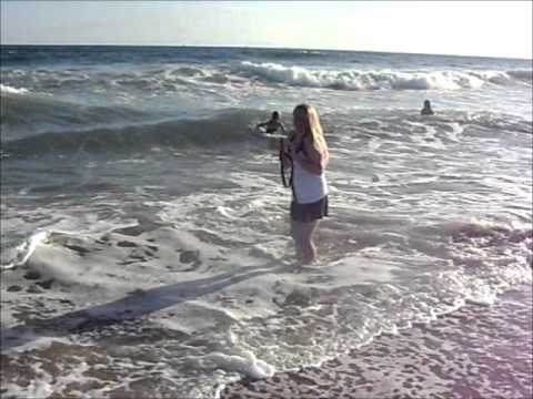 Huntington Beach 5 - Taking pictures of the Waves - Playing around