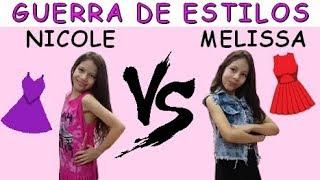 GUERRA DE ESTILOS - MELISSA VS NICOLE thumbnail