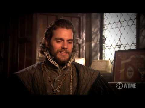 HENRY CAVILL - A Sit Down with Henry Cavill @ The Tudors, Season 4