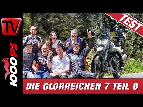 Moto Guzzi V85TT Test Deutsch - Italienischer Sound trifft auf österreichische Landstrassen