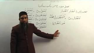 Lecture 67/70 :: Learn Quranic Arabic by Aamir Sohail  in Urdu