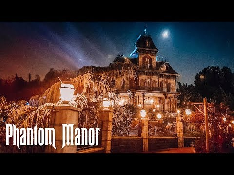New FULL RIDE POV Phantom Manor in Disneyland Paris