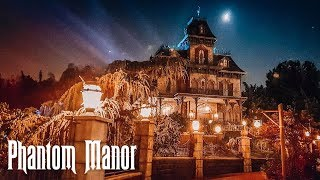 Newly renovated Phantom Manor in Disneyland Paris