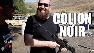 Colion Noir Shows Vlad How to Shoot Automatic Weapons for First Time (Part 6)