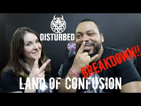 Disturbed-Land Of Confusion Reaction!