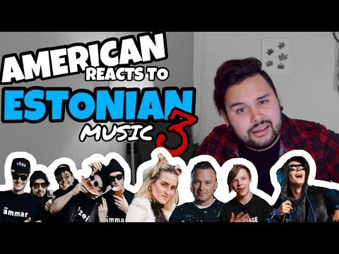 American REACTS: Estonian  3