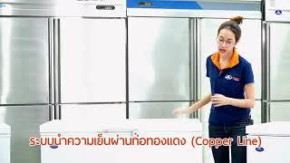 Tủ Cấp Đông Mini Nhật Bản - Sanden - Nhập Khẩu Thái Lan
