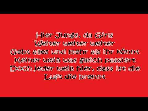 36 Grad - Karaoke - Popstars Version