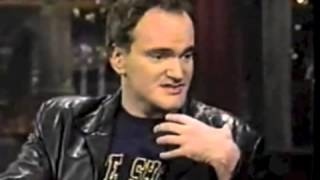 Quentin Tarantino @ David Letterman, Jackie Brown, 1997