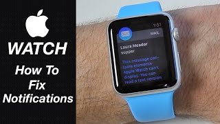 Apple Watch - How To Fix Mail & Message Notifications thumbnail