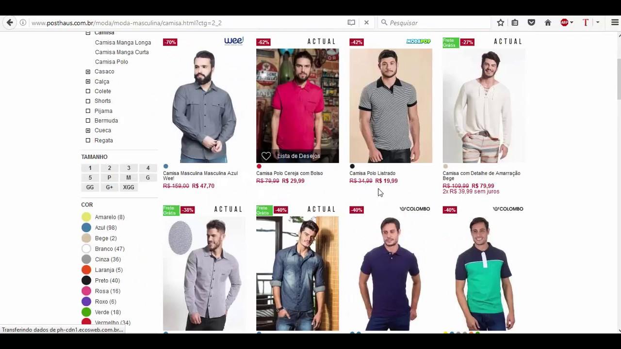 3211a3bf6 Site de roupa boa