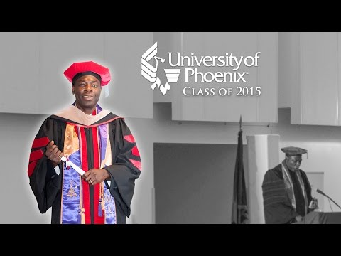 University Of Phoenix Graduate Dr. James Arukhe 24min 1.3