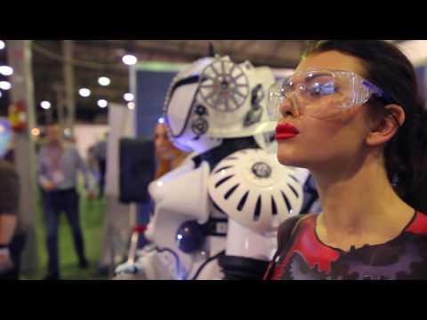 Robotics Expo 2015 Exhibition Moscow Russia