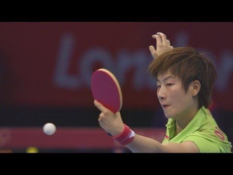 Women's Table Tennis Singles Gold Medal Match - China v China | London 2012 Olympics