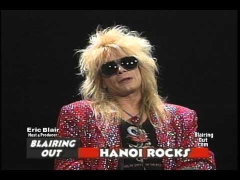 HANOI ROCKS Michael Monroe talks w ERIC BLAIR 2004