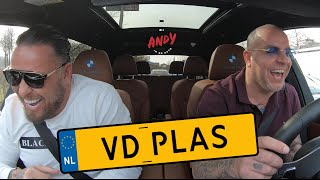 Michael van der Plas  - Bij Andy in de auto! (English subtitles)