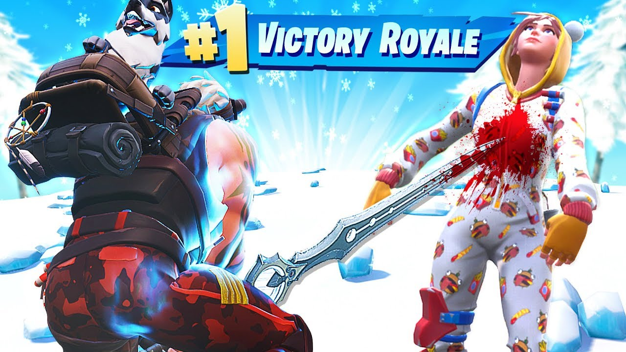 12 Minutes 28 Seconds Of Fortnite Sword Gameplay In Season 7 Youtube