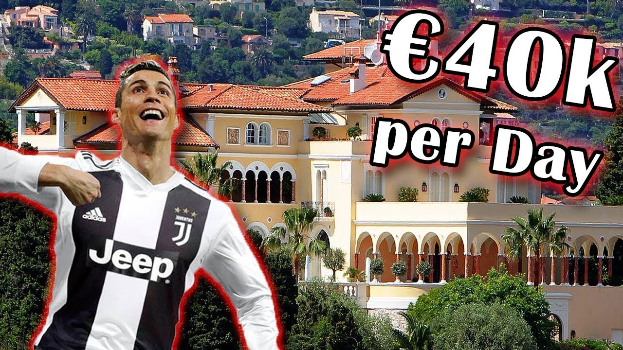Cristiano Ronaldo S New House In Italy 40 000 Per Night Most