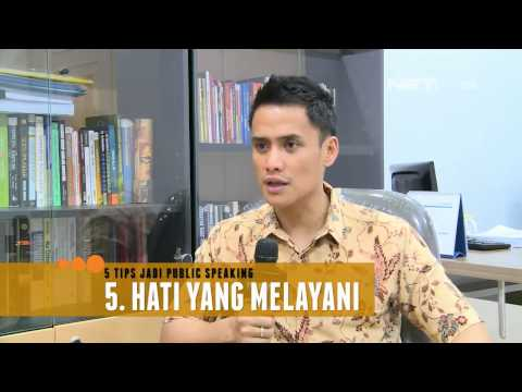Entertainment News - 5 Tips Public Speaking ala Choky Sitohang Mp3