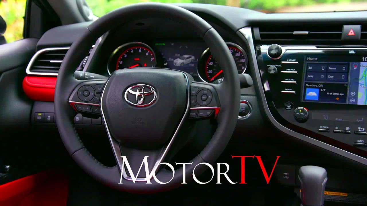 All New 2018 Toyota Camry Xse L Interior L Clip Youtube