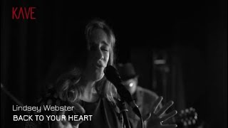 Lindsey Webster - 'Back To Your Heart'