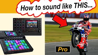 Hypesynth / Tubesynth - 3 Tips to sound PRO 🎹🍟⚡️ (Akai Force, MPC Live, MPC Once)