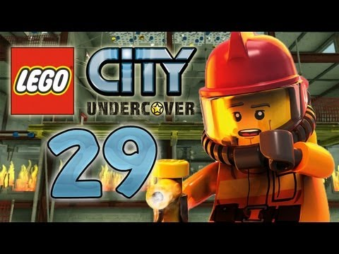 Let's Play Lego City Undercover Part 29: Chase als Feuerwehrmann!