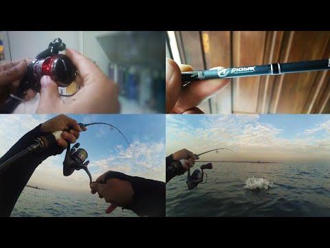 Unboxing PIONEER EVO Rod, OKUMA Spinning Reel RTX-30S