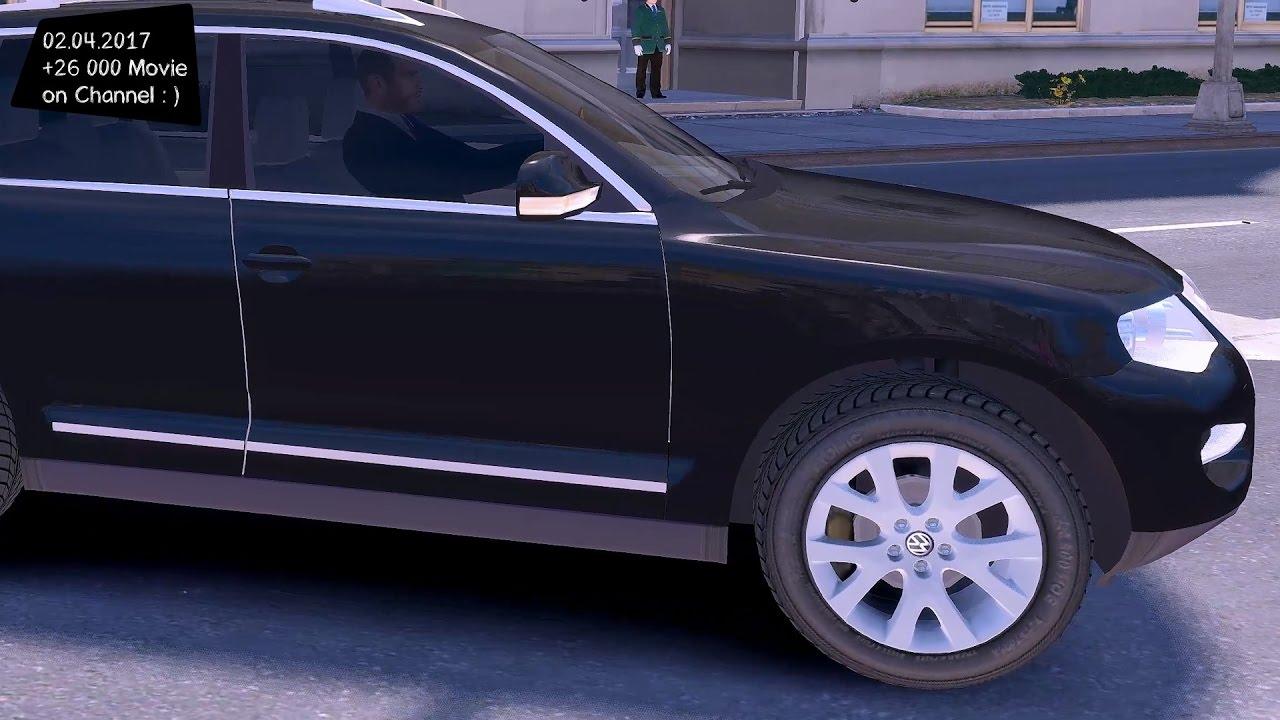 VW Touareg V12 TDI 2008  GTA IV TUNING   4K  60FPS  GTX