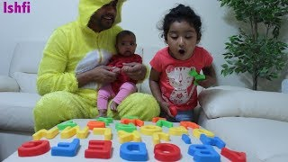 ABC Song with Ishfi and Daddy