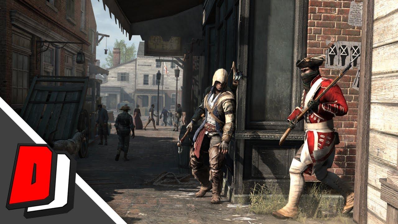 Assassin S Creed Iii Remastered Ps4 Gameplay Walkthrough
