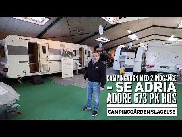 Adria Adora 673 PK hos Campinggården Slagelse