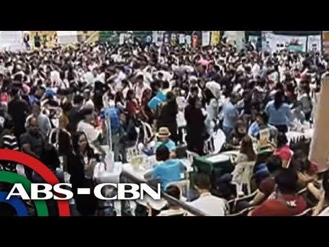 TV Patrol: Ilang aplikante sa DOLE job fair, nababahala dahil 'tatawagan na lang'