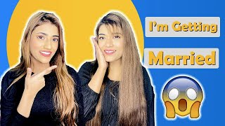 I'm Getting *MARRIED* 😱 Prank On My Friends | *Gone Wrong* 😳 Ft. Samreen Ali | Mahjabeen Ali