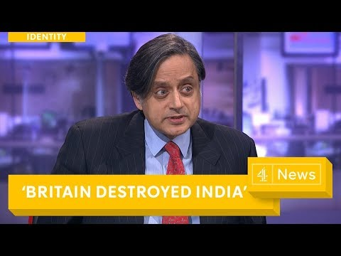Dr Shashi Tharoor's powerful answer to Sky News interviewer