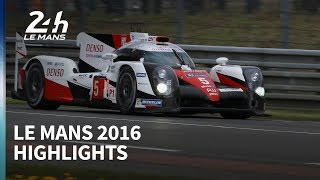 Toyota's ultimate heartbreak - Le Mans 2016 highlights